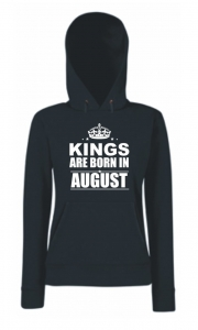 BLUZA KANGUR KINGS ARE BORN IN AUGUST