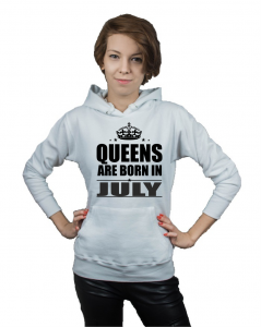 Bluza  kangur QUEENS ARE BORN IN AUGUST