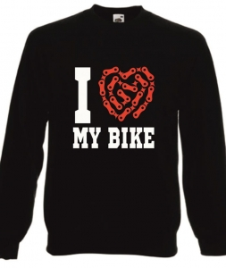 Bluza damska I LOVE MY BIKE