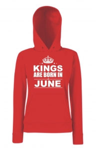 BLUZA KANGUR KINGS ARE BORN IN JUNE